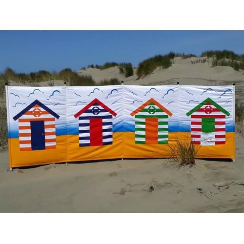 Carpentero Beach Huts Camping: Picture Windbreak